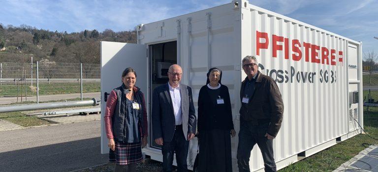 Pfisterer Solar Container for St. Aquinas School in Mtwara